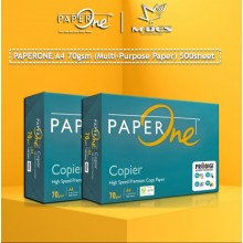 Paper One A4 PAPER 70g White Copier Paper (500'S)