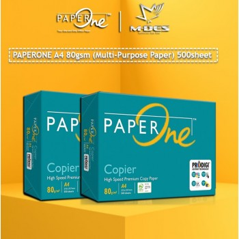 Paper One A4 PAPER 80g White Copier Paper (500'S)