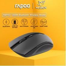 RAPOO 7200M 2.4G Wireless Multi Mode (Dark Grey)