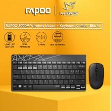 RAPOO 8000M 2.4G Wireless Keyboard+Mouse