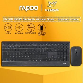 Rapoo 9500M 2.4G Wireless Keyboard & Mouse