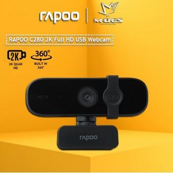 Rapoo C280 2K HD Webcam Black