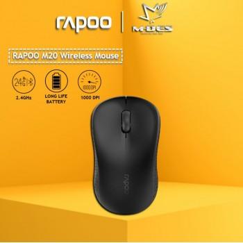 RAPOO M20 2.4G Wireless Mouse (Black)