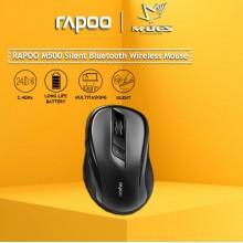 RAPOO M500 Silent 2.4G Wireless Mouse (Black)