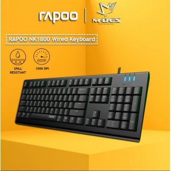 RAPOO NK1800 Wired Keyboard
