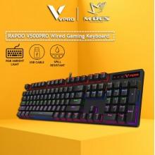 RAPOO V500 PRO Backlit Mechanical Gaming Keyboard