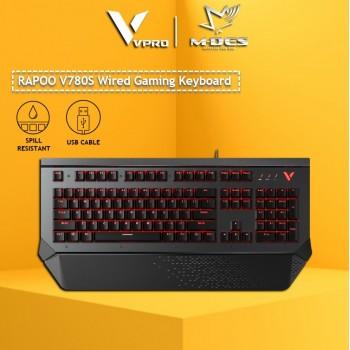 RAPOO V780S Wired Waterproof Gaming Keyboard