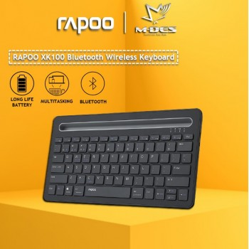 RAPOO XK100 keyboard Wireless Bluetooth Keyboard