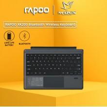 RAPOO XK200 Bluetooth Keyboard CSF Version 3 (US Black)