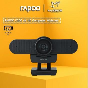 Rapoo C500 4K HD Computer Webcam