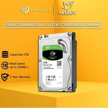 SEAGATE Barracuda 3.5'' 2TB Internal Hardisk . STORAGE ST2000DM008 For Desktop