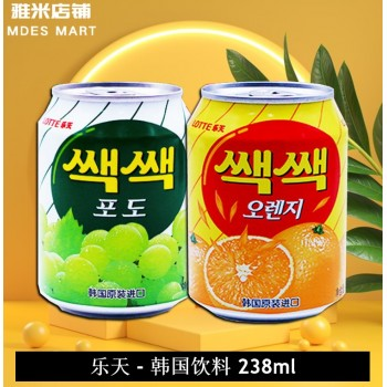 Lotte Korean Drink 238ML 乐天 - 韩国饮料 (苹果味 Apple)