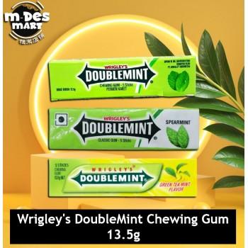 Doublemint Green Tea Mint Chewing Gum (5 pcs)