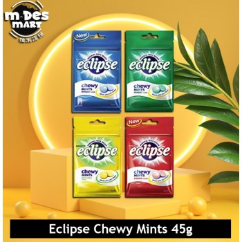 Eclipse Chewy Mints Minty Lemon 45g