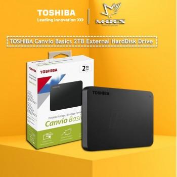 TOSHIBA Canvio Basic 2TB External Hardisk