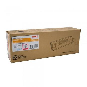 OKI C5850/5950/MC560 MAGENTA TONER 6000pgs 43865726 ( ITEM NO : OKI C5850 MAG )