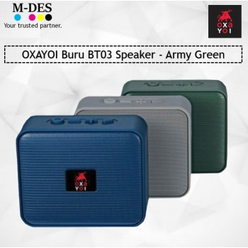 OXAYOI Buru BT03 Speaker - Army Green