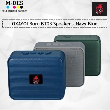 OXAYOI Buru BT03 Speaker - Navy Blue