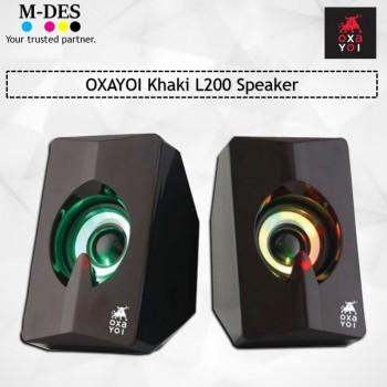 OXAYOI Khaki L200 Speaker