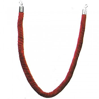 Velvet Rope for Q-Up Stand VRP-105 RED (Item No.G01-197RD)