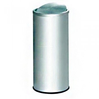 Stainless Steel Dustbin  FT-031SS ( ITEM NO : G01 24 )