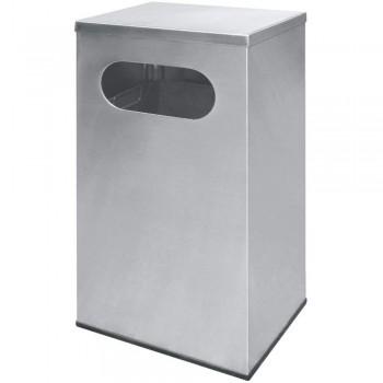 Stainless Steel Rectangular Waste Bin c/w Flat Top-RAS-119/F (Item No.G01-264)