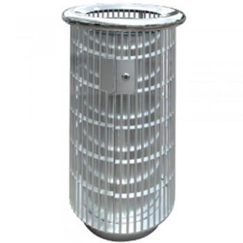 Stainless Steel Round Waste Bin c/w Open Top-RAB-147/OT (Item No.G01-273)