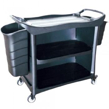 3 Tiers Utilities Cart c/w 3 Side Cover & Bucket-3UC-612