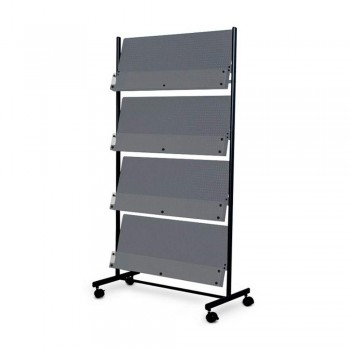 WP-M302 Deluxe Magazine Rack (Item No: G05-295)