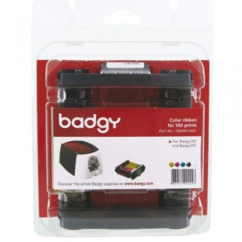 Badgy Color ribbon for 100 prints - Badgy100 & Badgy200