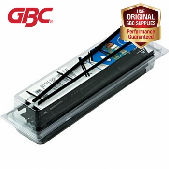 GBC Surebind/Velobind Strip - 75mm, 3 Inch, Black
