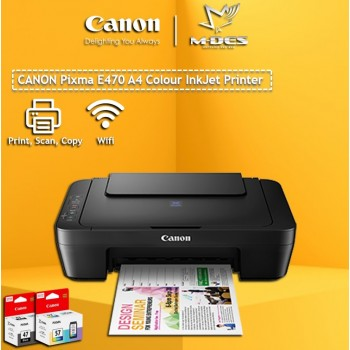 Printer Canon E470 ALL-IN-ONE