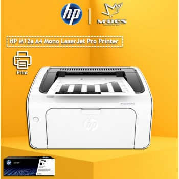Printer HP  LaserJet Pro M12a