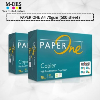 Paper One A4 PAPER 70g White Copier Paper (500'S)