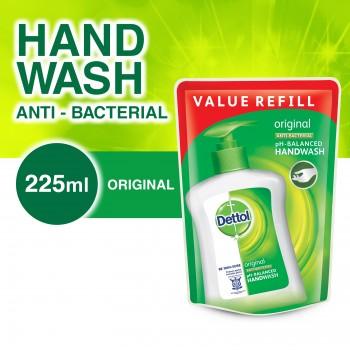 Dettol Hand Wash Original Refill Pouch 225ml