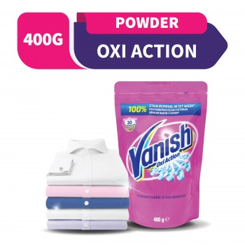 Vanish Fabric Stain Remover Laundry Pink Powder 400g