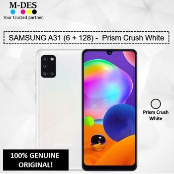 Samsung A31 (6GB + 128GB) Smartphone - White