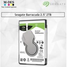 Seagate Barracuda 2.5'' 2TB Internal Hardisk . STORAGE ST2000LM015 For Laptop