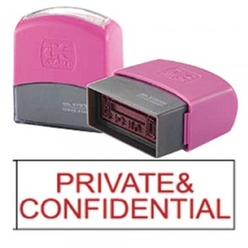 AE Flash Stamp - Private and Confidential