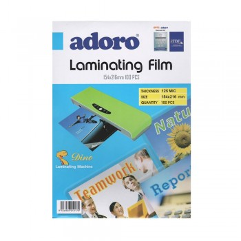 154x216mm LAMINATING FILM (100 PCS)