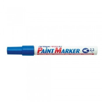 Artline 400XF Paint Marker Pen - 2.3mm Bullet Nib - Blue