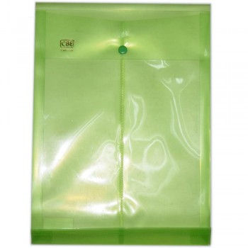 CBE 114A DOCUMENT HOLDER GREEN W/BUTTON