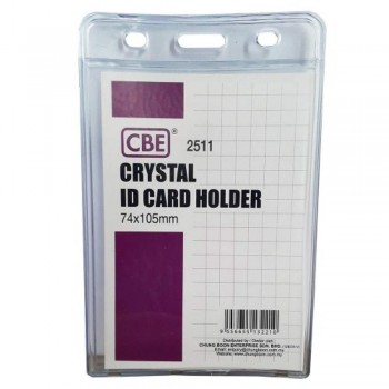 CBE 2511 Crystal ID Card Holder - 74 x 105mm