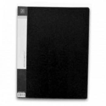 CBE 76020 Clear Holder 20 Pockets BK-A4 (Item No: B10-10 BK)