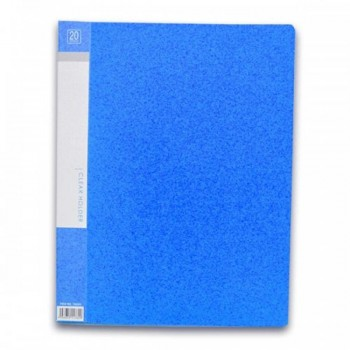 CBE 76020 Clear Holder A4 size - Blue (Item No: B10-10 BL) A1R5B17