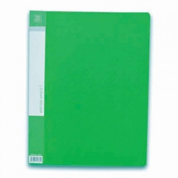 CBE 76020 Clear Holder A4 size - Green (Item No: B10-10 GR) A1R5B17