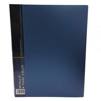 CBE MP20 Metalic Pearl Clear Holder A4 (20 Pockets)-blue (Item No:B10-48 ) A1R5B19