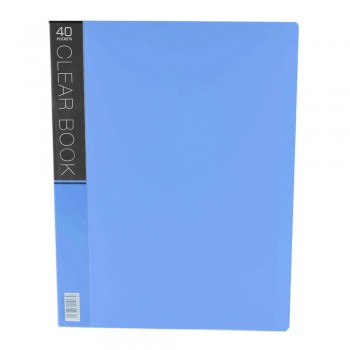 CBE Merry Colour Clear Book VK40 A4 - Blue (Item No: B10-56) A1R5B27