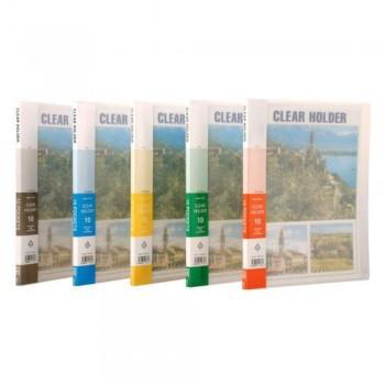 CBE Translucent Clear Holder PP 76010 A4 (10 Pockets) (Item No: B10-58)