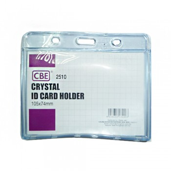 CBE 2510 Crystal ID Card Holder - 105 x 74mm